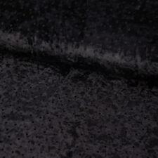 GOTHIC AUFNÄHER SARG samtstoff schwarz Patch //Aufbügler