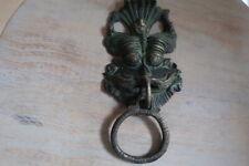 Indian Brass Door Knocker Demon Guardian Solid