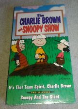 Charlie Brown  and Snoopy Show V. 7 VHS 1995 New Sealed 2 Episodes Snoopy Giant