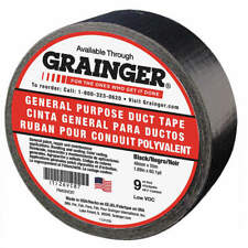 Grainger Approved 26vc87 Duct Tapeblack1 78 In X 60 Yd9 Mil
