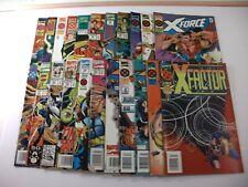 Mixed Lot of 22 Marvel Comics X-Factor, X-Force, & Factor-X