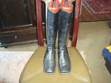 Billibi Sttiefel  Gr.40 schwarz Leder.3cm Absatz  getragen.