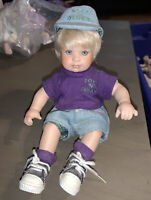 BOYZ N' BERRY BOY DOLL Tiny Tot By Marie Osmond DOLL ONLY SEE PHOTOS