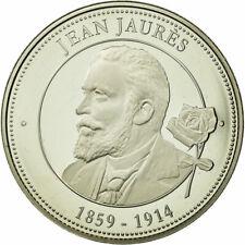[#710992] France, Médaille, Collection Panthéon, Jean Jaurès, FDC