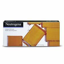 Jabon Neutrogena En Barra Para Piel Grasa Hipoalergenico Glicerina - Set De 6 Da