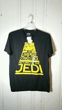 STAR WARS TEE THE EMPIRE STRIKES BACK RETURN OF THE JEDI LARGE S/S NWT