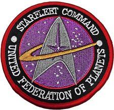 "Star Trek The Next Generation Starfleet Command 3 3/4"" UFP Patch"