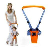 Baby Lauflernhilfe Moon Walk Lauflerngurt Gehhilfe Laufhilfe Gehfrei Orange