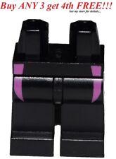 ☀️NEW Lego Legs Pants MINIFIGURE MINIFIG BOY GIRL Black Hip Dark Pink Wetsuit