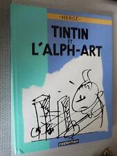 LIVRE TINTIN L  ALPH ART EO 1986