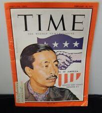 Original 1966 Time Weekly News Magazine South Viet Nam's Premier Ky 2/18/1966