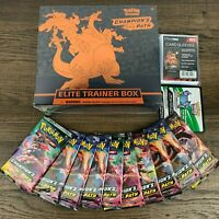 Pokemon Champions Path Elite Trainer Box + 10X Booster Pack LOT🔥 FACTORY SEALED