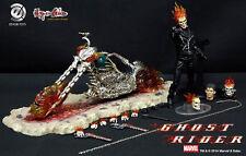1/8.75 Ezhobi Toys Hyper Gokin Ghost Rider HG002 Johny Blaze Hell Bike Figure K
