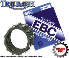 Triumph Bonneville T100 (865cc) 05-09 Ebc Heavy Duty Placa De Embrague Kit ck5608