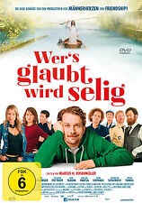 DVD * WER'S GLAUBT WIRD SELIG  - C. Ulmen - M. H. Rosenmüller - Wers # NEU OVP +
