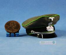Figur 1/6 WW2 Deutsche General Offizier Kommandant Visor Peaked Cap Hut WF_6F