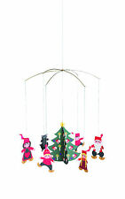 Flensted Pixy Family Elf Christmas Tree Modern Hanging Mobile Holiday Decor