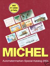 Michel 2004 Automatenmarken-Spezial Katalog, NEW. Computer Vended Postage