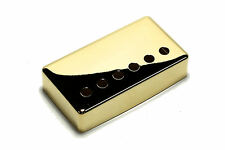 "Humbucker Pickup cover Gold plated nickel silver 1 15/16"" (49.2mm) for Gibson"