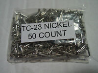 50 Lionel TC 23 Nickel knuckle coupler Rivets to repair  Lionel trucks