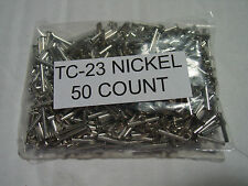 50 Lionel TC 23 Nickel Knuckle coupler Rivets & 50 TC 22 Knuckle Coupler Springs