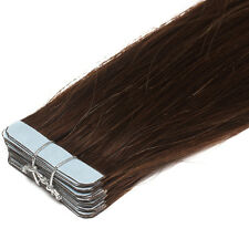 """Premium Seamless Weft Tape in Indian Remy Human Hair Extensions 16""""18""""20""""22"""" US"""