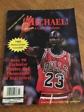 Michael Jordan A Career Tribute 90+ Photos Big Centerfold Records Stats 1993