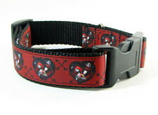 "Nightmare Before Christmas dog collar handmade adjustable buckle collar 1""wide"