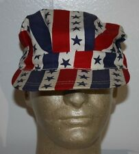 Vintage Political Convention Pinback Pin Hat Cap Stars and Stripes Hat Cap