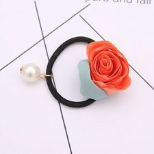 Fashion  Flower Style Elastics Hair Ties Ponytail Holders for Ladies, 2PCS