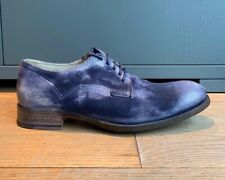 NDC n.d.c. made by hand leather shoes unique blue dye - uk 8