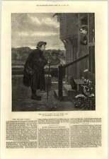 1871 The Village Gossip Artwork Hs Marks