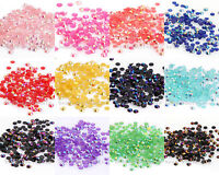 New 12g(2000pcs) Half Round Crystal Bead Flatback For Nail art  Diy jewelry