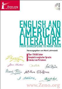 English and American Literature Englische Produktbeschreibung CD  Zeno Band 33