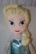 "Walt Disney Frozen Queen Elsa  24"" Plush Stuffed Doll Toy Discontinued"