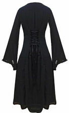 Viscose Casual Goth Plus Size Dresses for Women