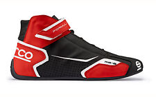 Sparco Formula RB-8 Race Boots (Colour: Black/Red, Size:37 EUR)