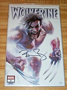 Wolverine #1! (2020) Midtown Variant! Signed by Writer Benjamin Percy! NM! COA!