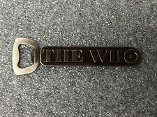 The Who Officially licensed metal bottle opener rare 2008 in original  packaging