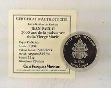 La collection du Vatican - Jean Paul II Vierge Marie - 500 Lires 1984