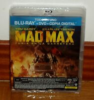 MAD MAX-FURIA EN LA CARRETERA-COMBO BLU-RAY+DVD-NUEVO-PRECINTADO-NEW-SEALED