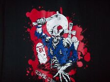 HELLS ANGELS  YAVAPAI CO.- 81SUPPORT SHIRT- ZOMBIE GRAVEYARD CREW
