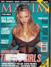 Maxim For Men June 2000 Magazine Angelina Jolie Sex with 300 Girls /r6