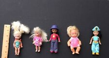 Lot Of 5 Vintage Small Miniature Dolls Plastic, $25 For All 5