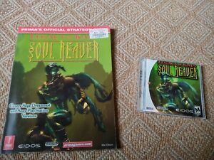 Legacy of Kain: Soul Reaver (Dreamcast) and Prima Strategy Guide bundle