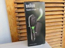 BRAUN SATIN HAIR 7 IONTEC BRUSH SHINE NO FRIZZ SMOOTH HAIR, PREMIUM EDITION  NEW