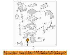 KIA OEM 05-07 Sportage Blower Motor-Resistor 971791F210
