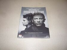 THE GIRL WITH THE DRAGON TATTOO : DVD , 2012 DANIEL CRAIG BRAND NEW AND SEALED