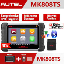 Autel MK808TS OBD2 Bluetooth Diagnostic Scanner TPMS Better MX808 MK808 MK808BT