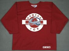 Colorado Avalanche Vintage CCM NHL Center Ice Practice Jersey Large